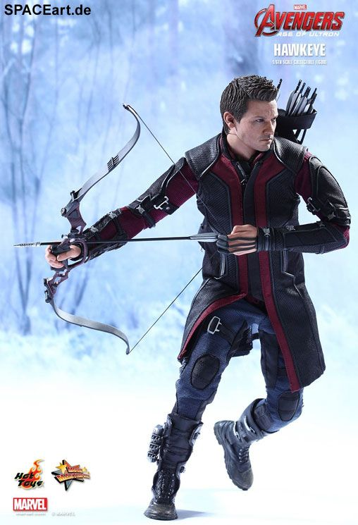 The Avengers 2: Hawkeye, Voll bewegliche Deluxe-Figur ... http://spaceart.de/produkte/tav012.php