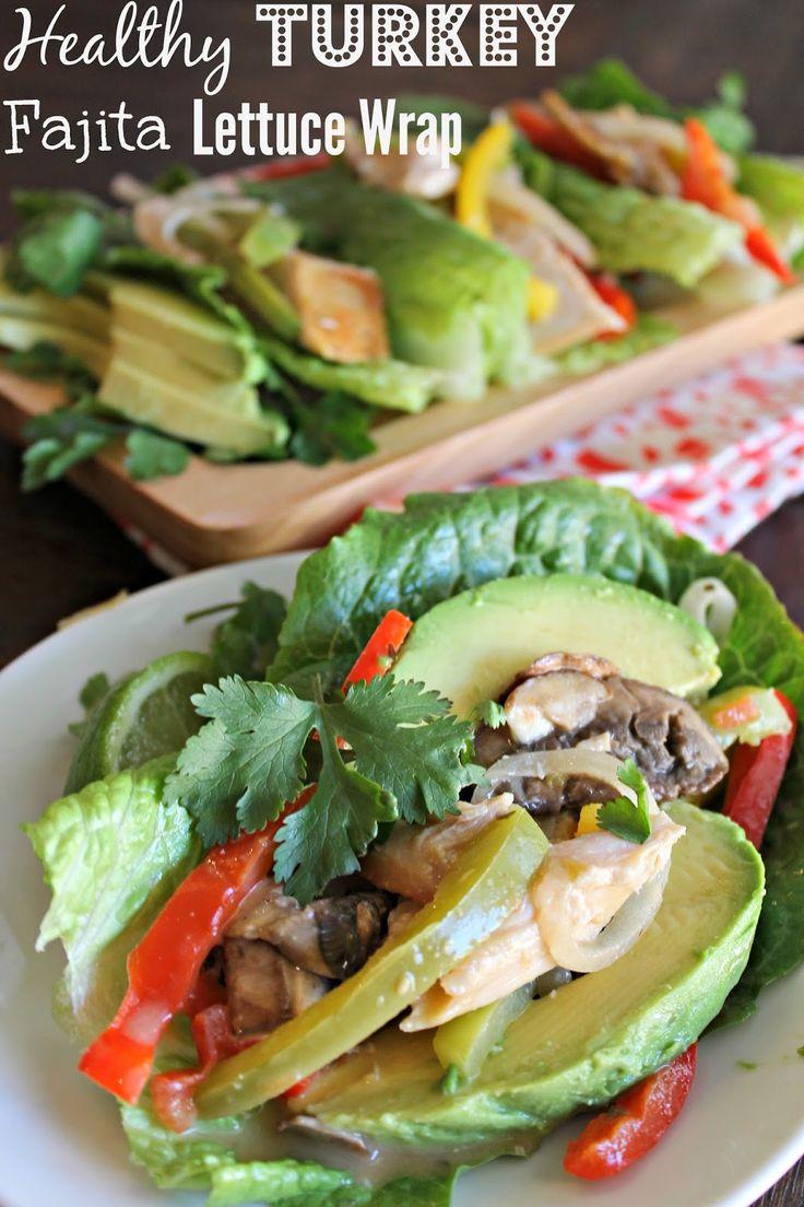 Made It. Ate It. Loved It.: Turkey Fajita Lettuce Wraps @honestturkey