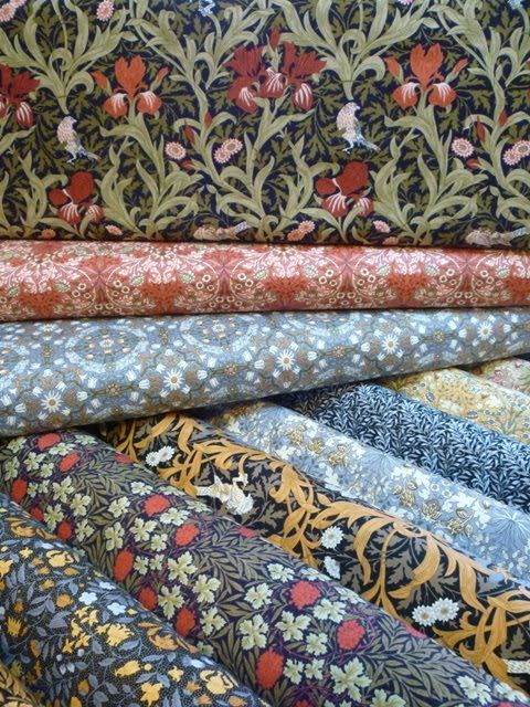 We have just had a new delivery of William Morris inspired fabrics. This range is by Fabric Freedom and is and is $22 per mt. There are seve...
