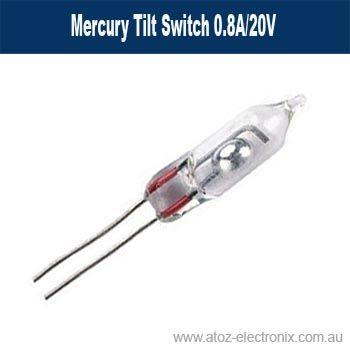 Mercury Tilt Switch 0.8A/20V