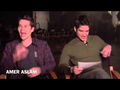 Teen Wolf Set Arbeit Staffel 3 - YouTube
