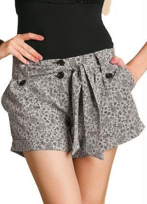 bermudas femininas de tecido estampadas - Pesquisa Google