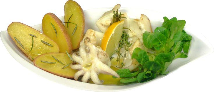 Tintenfisch gegrillt - Sepia alla griglia - Rezept