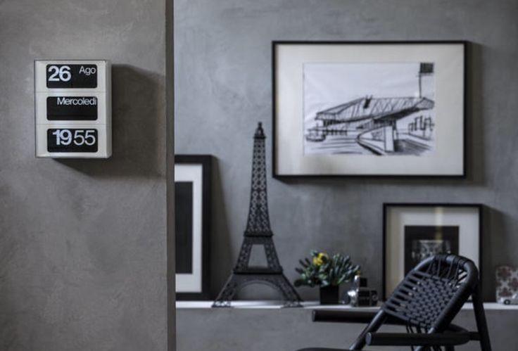 """""""Icona del design made in Italy, l'orologio da parete Dator 60""""  L'articolo di Elle Decor Italia/ Gli orologi di design sono, da sempre, un oggetto del desiderio.  #dator60 #solari lineadesign #elledecor #showroom #rossimobili #botticino"""