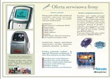Brochure for Galas Auto Serwis