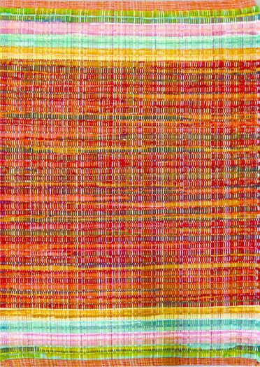 Candy Rug Red Multi