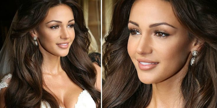 """Michelle Keegans Wedding Makeup Artist Reveals How To Get Her Bridal Look-Michelle Keegan's wedding makeup was one of the most stunning bridal looks of 2015, so it's no surprise the brunette beauty can't stop posting photos from her special day.Sharing the below close-up snap with her 2.3 million Instagram followers, Keegan wrote """"My favourite look of 2015. Thank you Krystal Dawn and Lisa Laudat,"""" (her hair and makeup glam squad)."""