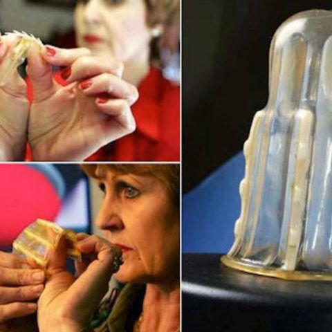 Rape-aXe ! The Anti-Rape Condom With Teeth Designed for Women  --  Yes.