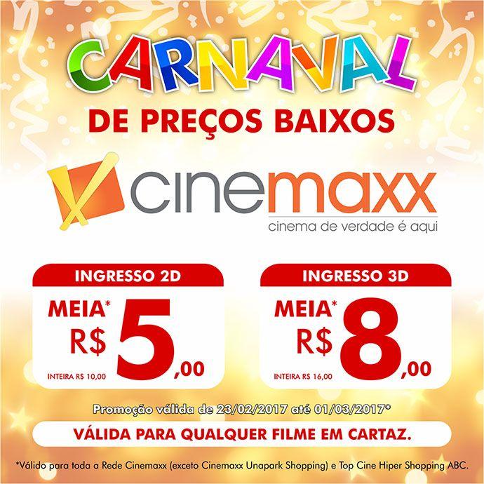 Programação de Filmes  Cinemaxx Imperial Paracambi e Cinemaxx Casario Shopping Vassouras