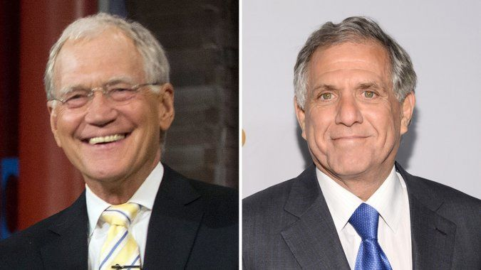 "CBS' Leslie Moonves Reveals Surprising Side of David Letterman: He's ""Extraordinarily Sensitive 