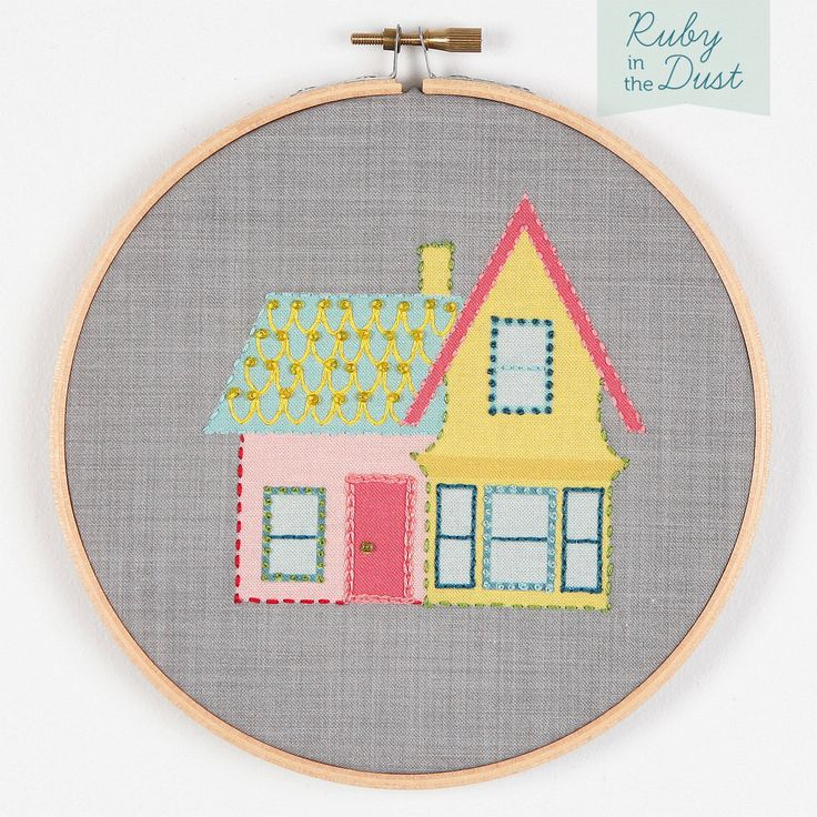 House Hoop Wall Art Embroidery Kit. $28.00, via Etsy. This would be a great personalised gift