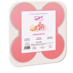 Cire Depileve disponible sur http://www.beautyglamstore.fr/produit-esthetique/epilation-sans-bandes/cire-traditionnelle-rose-depileve-en-galets-1-kg.html