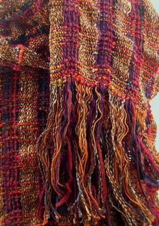Autumn Collapse Weave Scarf