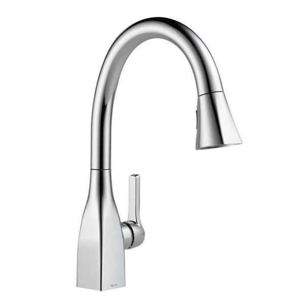 Delta Mateo Single Handle Pull Down Kitchen Faucet With