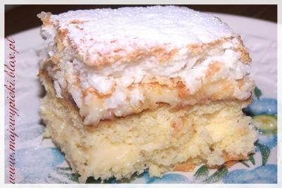 Ciasto kokosowo - budyniowe