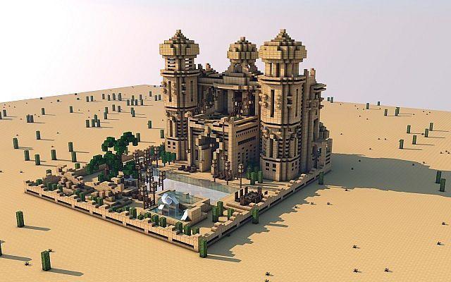 Maharaja's Villa Minecraft World Save