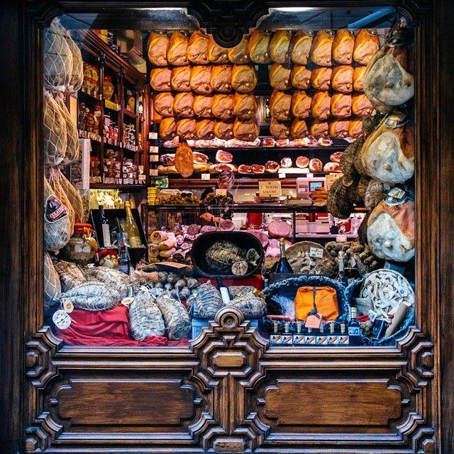 Prosciutteria in Parma, Italy. Photo by Dmitri Korobtsov.