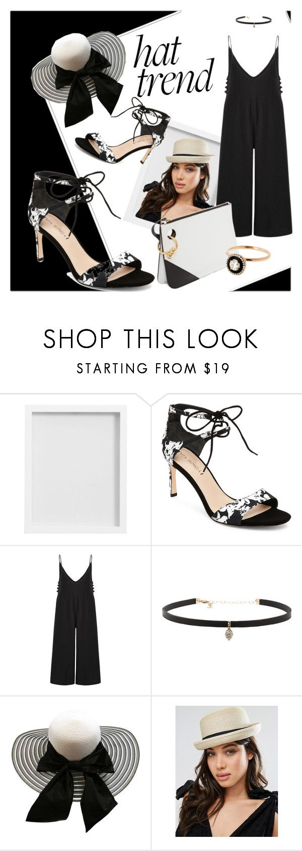 """""""Hat Trend"""" by kelli-bailey-ouimet ❤ liked on Polyvore featuring Pottery Barn, Via Spiga, Carbon & Hyde, Glamorous and Selim Mouzannar"""
