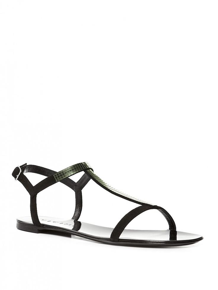 Черные сандалии Vicini - Женщинам