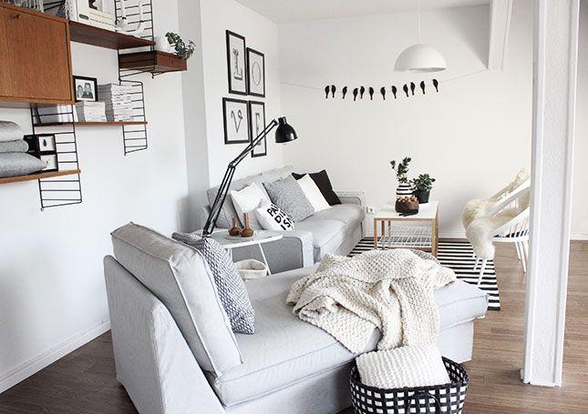 Mein neues Wohnzimmer für fast umsonst und ein weiteres megaeasy Herbst-DIY *piep piep*