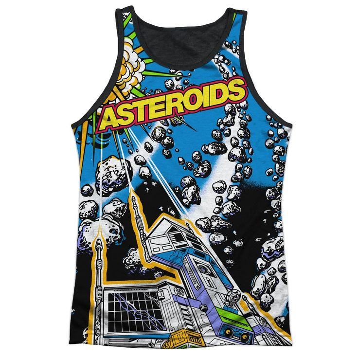 "Checkout our #LicensedGear products FREE SHIPPING + 10% OFF Coupon Code ""Official"" Atari/asteroids All Over-adult Poly Tank Top T- Shirt - Atari/asteroids All Over-adult Poly Tank Top T- Shirt - Price: $24.99. Buy now at https://officiallylicensedgear.com/atari-asteroids-all-over-adult-poly-tank-top-t-shirt-licensed"