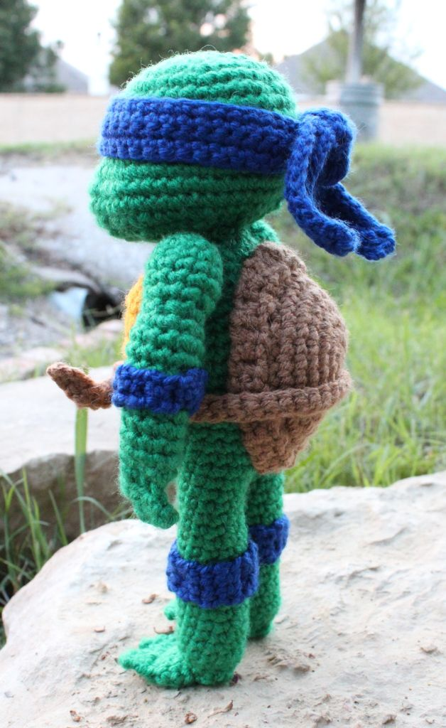Amigurumi Ninja Turtle : Teenage Mutant Ninja Turtles Patterns, Teenage mutant ...