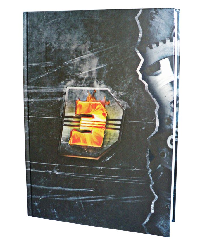 Dhoom 3 - 3 Subject Notebook, Design D