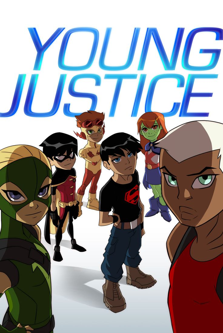 Young...er Justice? by *dou-hong on deviantART