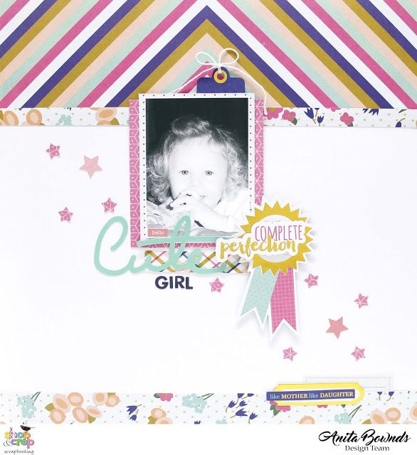Hello Cute Girl by Anita Bownds @fancypantsdesigns