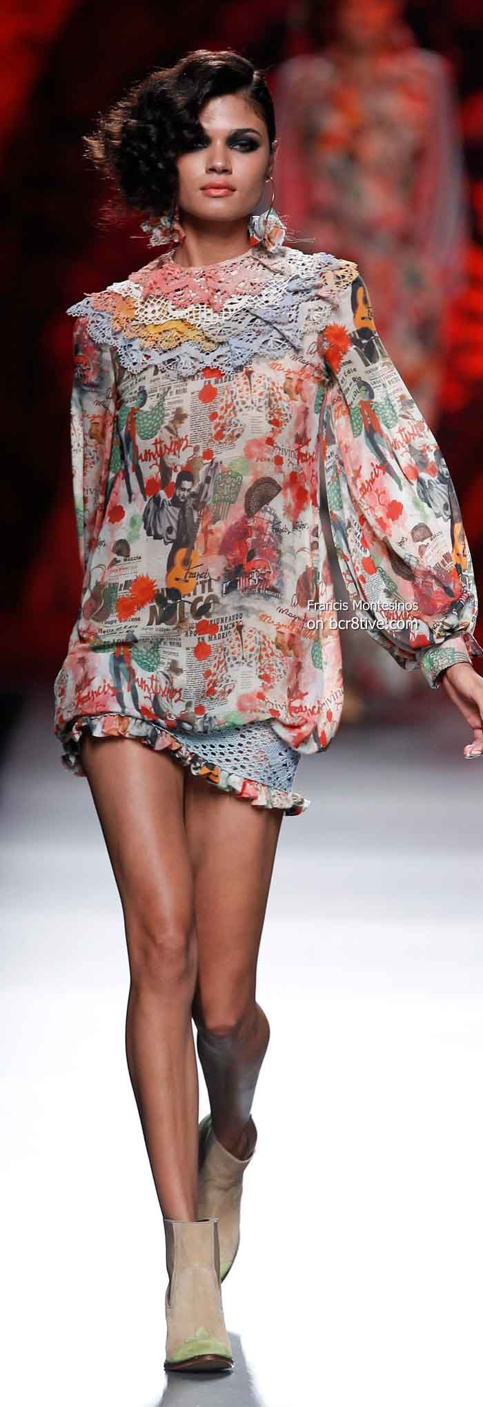 Francis Montesinos Spring 2014 #MBFW #Madrid