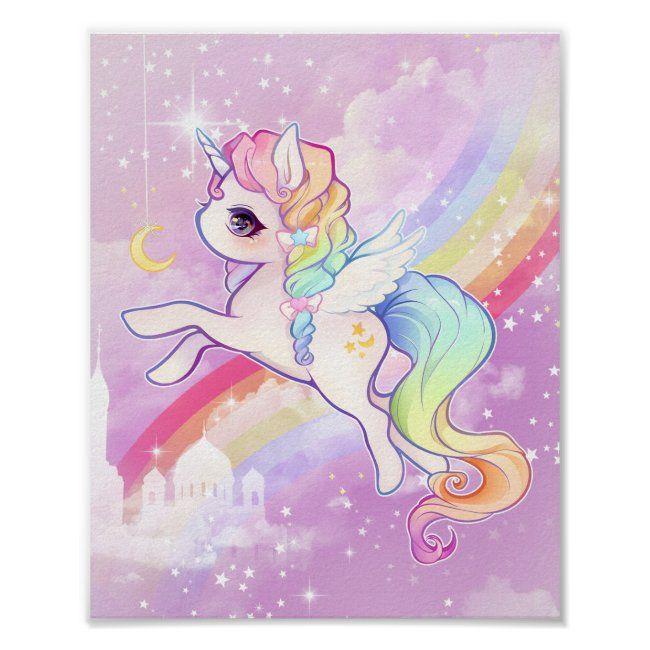 Unicorn Wallpaper Hd 747356 Ilustrasi Unicorn Wallpaper Unicorn Kartun