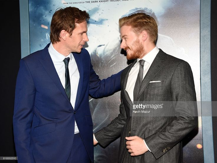 James D'Arcy and Jack Lowden attend the 'DUNKIRK' premiere in New York City.  (Photo by Kevin Mazur/Getty Images)