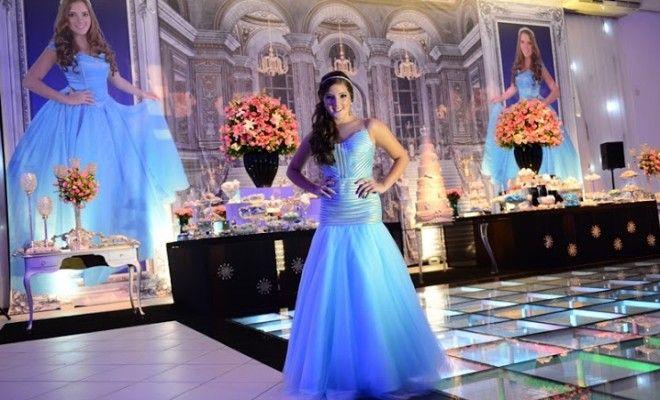Festa Cinderela Moderna ♥ Karolina - Inesquecível Festa 15 Anos