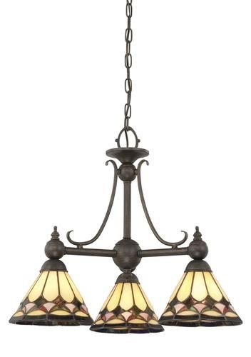 Patriot LightingR MenardsR Tiffany 20 Espresso 3 Light Chandelier At