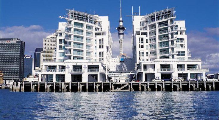 泊ってみたいホテル・HOTEL|ニュージーランド>オークランド>ワイテマタ湾に囲まれたプリンセスワーフの先端に位置>ヒルトン オークランド(Hilton Auckland)