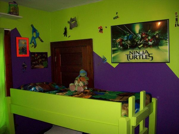 Teenage Mutant Ninja Turtle Boy S Room Boys Room