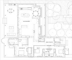 תוכנית הבית (שרטוט: משרד רוזן ליננברג אדריכלים)