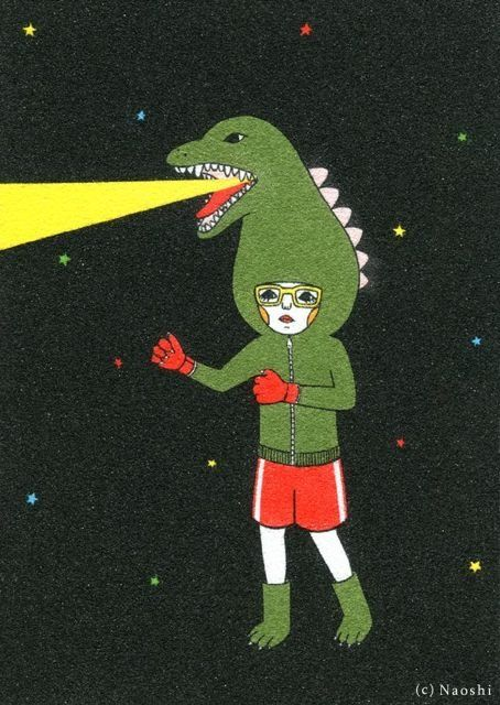 Naoshi Godzilla girl