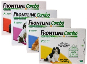 #FrontlineCombo for #dogs - Topical spot-on application for the treatment and prevention of flea infestation, Starts from £17.41