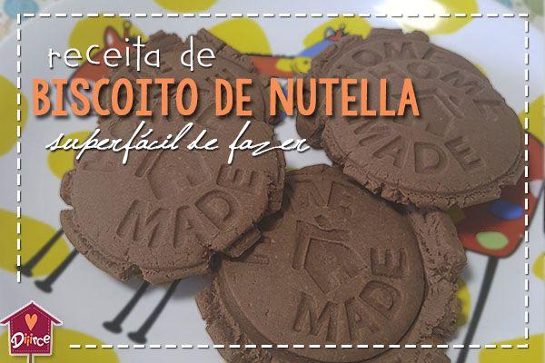 Você vai parar tudo o que está fazendo e preparar esse biscoito de Nutella que é uma delícia. Cozinhar com as crianças é uma experiência maravilhosa – exceto pelo fato de ter que limpar a co…