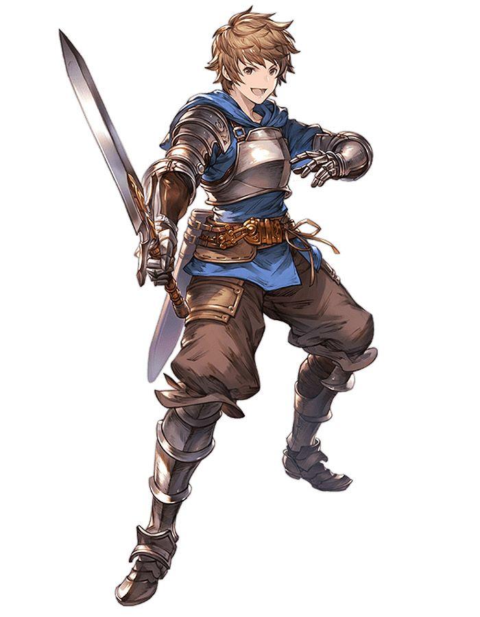 anime style swordsman rpg &