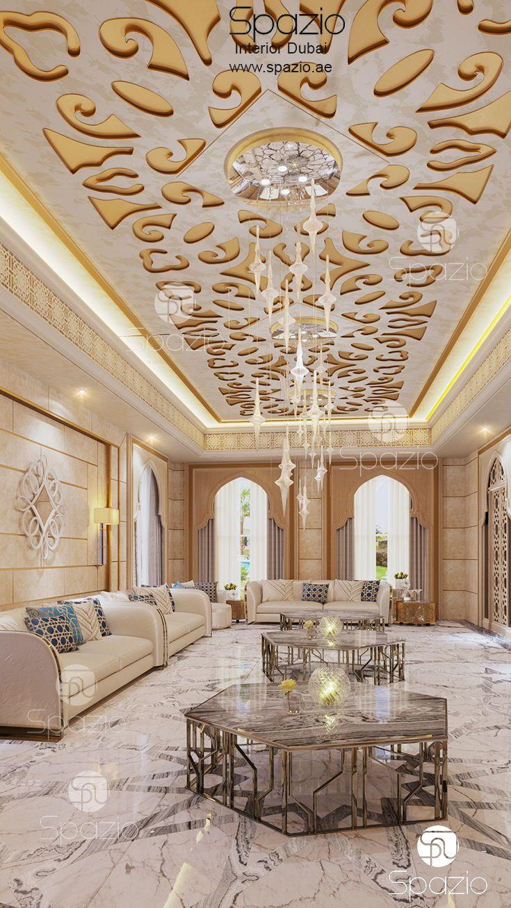 Arabic Style Living Room Interioer Design And Decor Ideas And Inspiration The D Luxury House Interior Design Coffee Shop Interior Design Interior Design Dubai