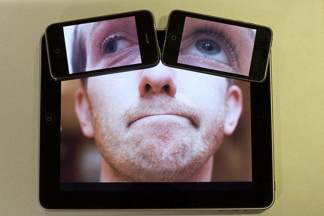 Des autoportraits pleins d'idées sur iPad