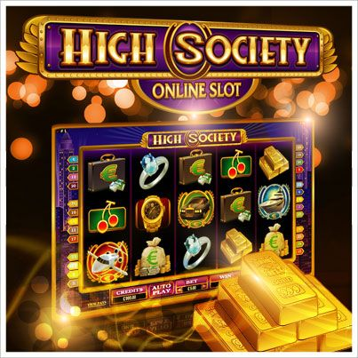 Got a taste for the finer things in life? Feel at home on the High Society slot game.
