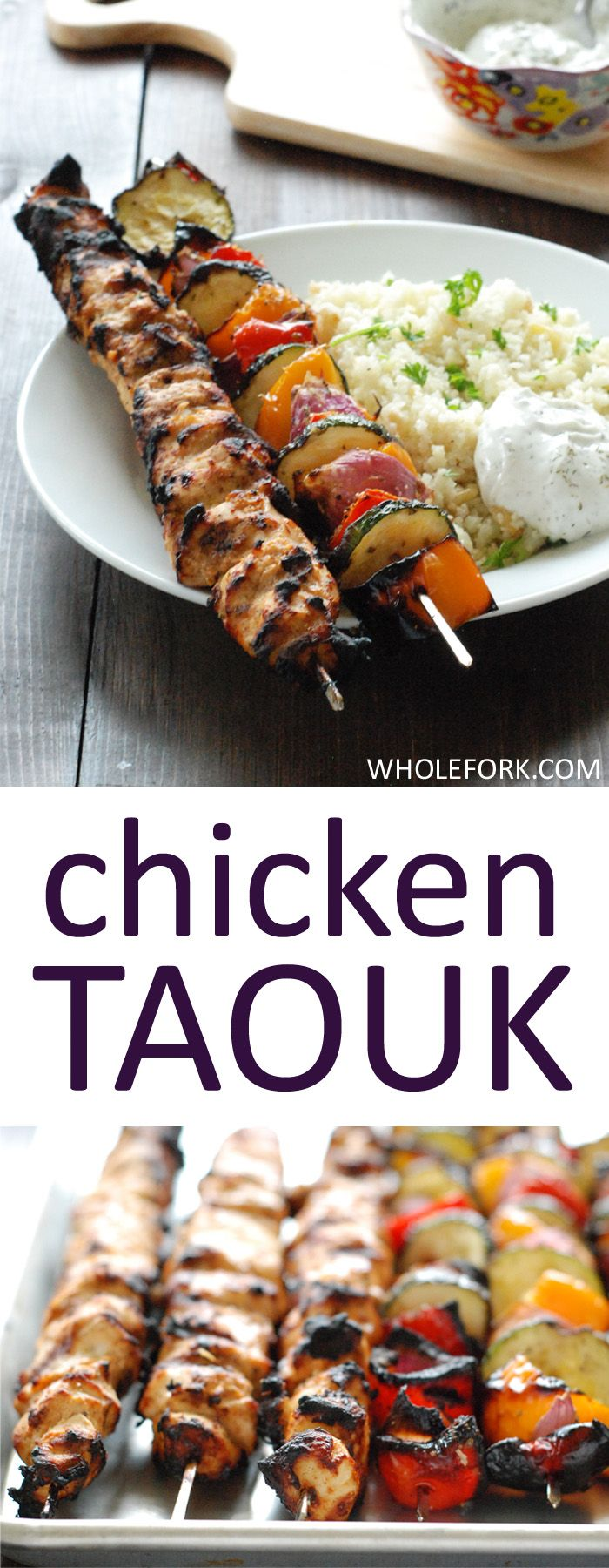 Turkish Chicken Taouk