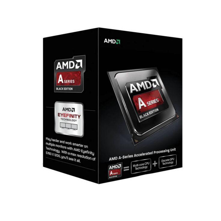 AMD A10 6800K APU – 4.1GHz Dual Core: Socket FM2 4mb Hypertransport BUS 32nm Unlocked Radeon Class Graphics 384 Shader Cores 3 year warranty