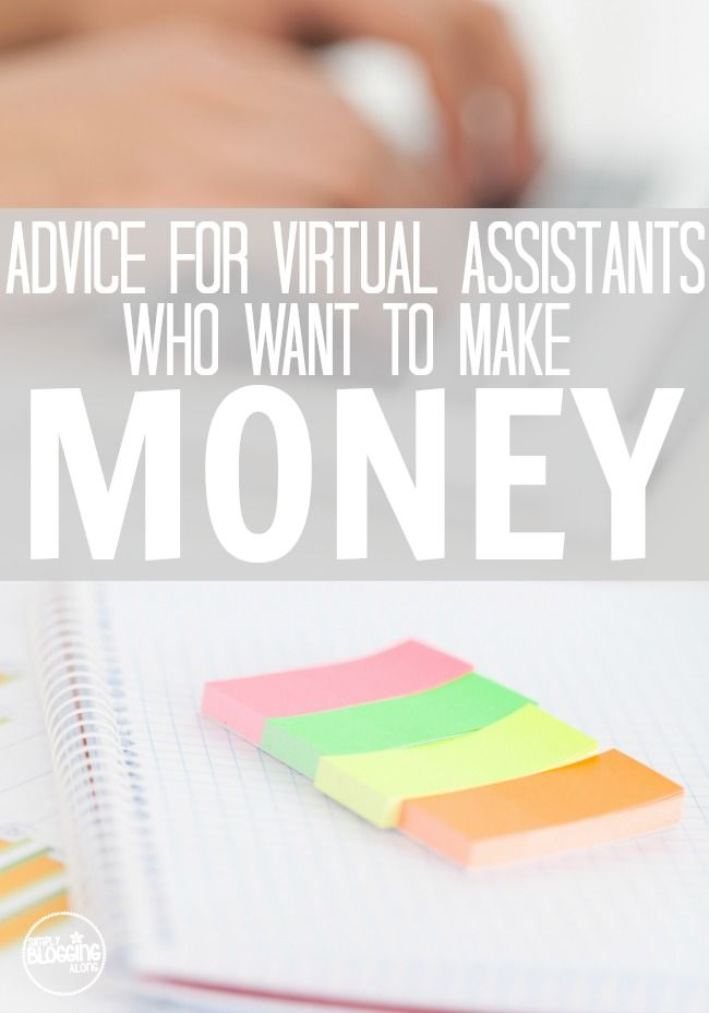 Do you want to do freelance work to earn money working from home? Check out this advice for virtual assistants who want to make money!