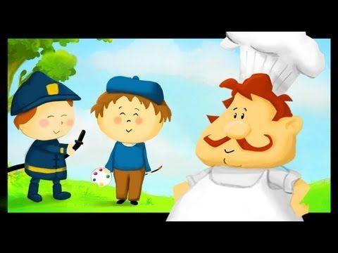 Apprendre les métiers en francais - YouTube