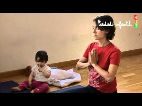 Ejercicio mantra de yoga para bebés - YouTube