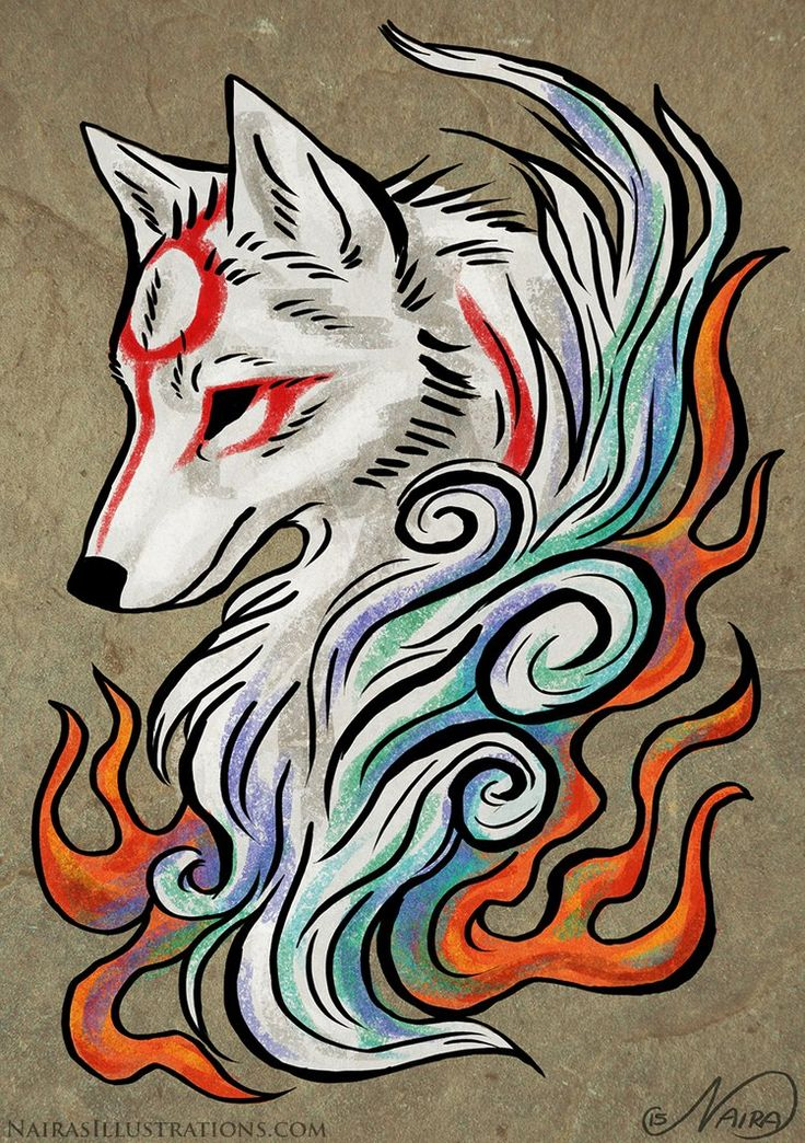 Amaterasu Tattoo by NairasIllustrations on DeviantArt